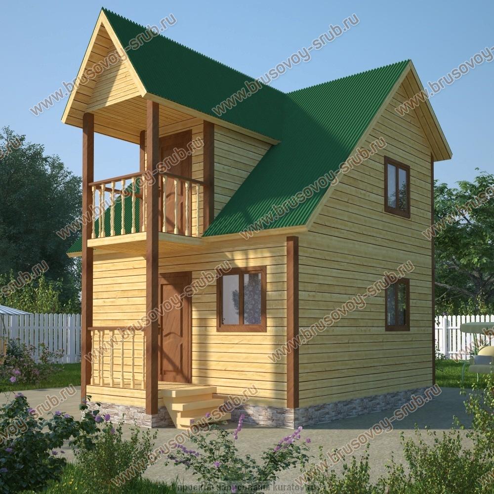 Дом из бруса 6х6: хорош как для лета, так и для постоянного .