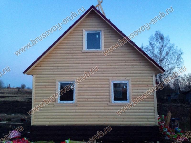 пример недорого садового домика