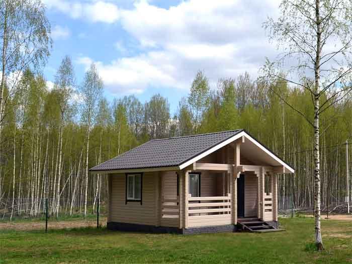 маленький гостевой дом