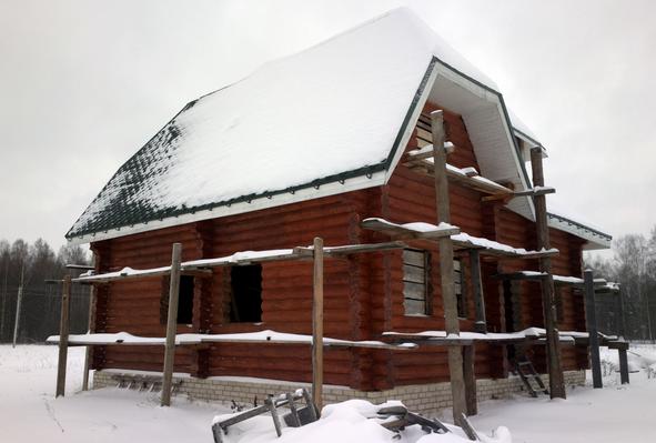 Консервация сруба на зиму