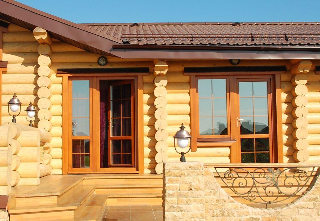 Окна и двери в загородный дом