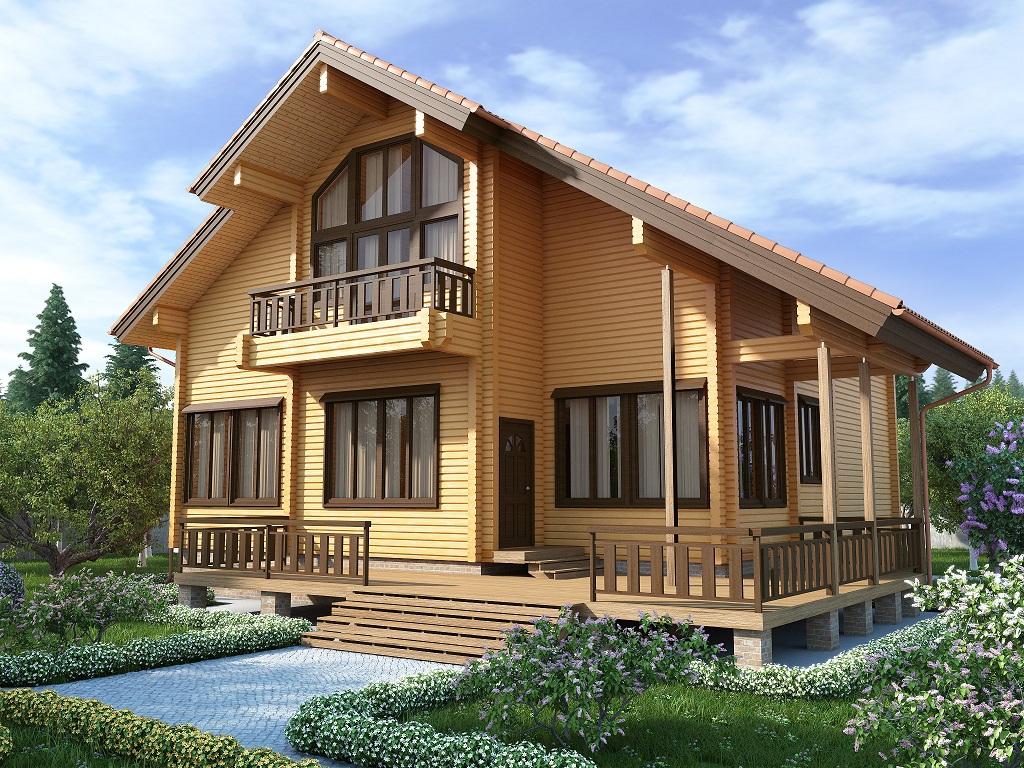Фасад большого дома