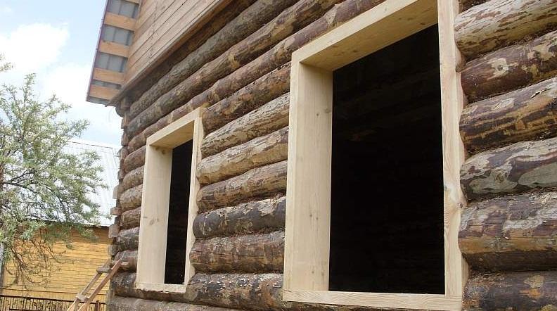 Обустройство обсады в деревянном доме