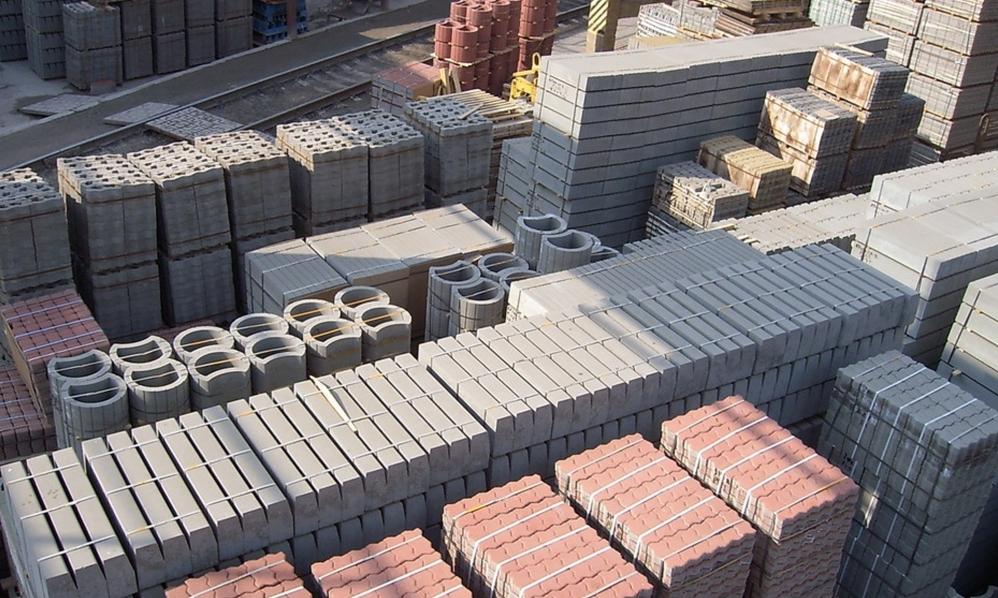 разнообразие строительных материалов