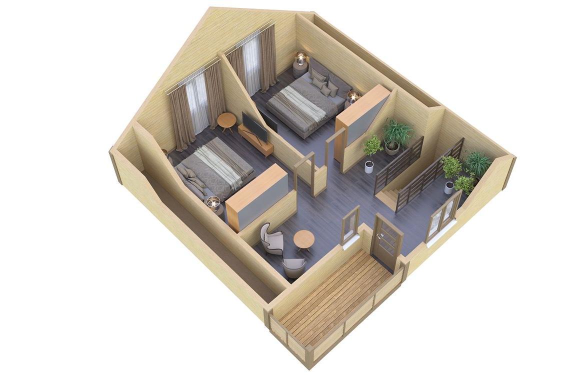 Дополнительный этаж мансарда