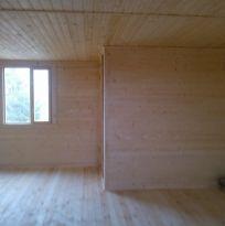 Как деревянный дом выглядит изнутри